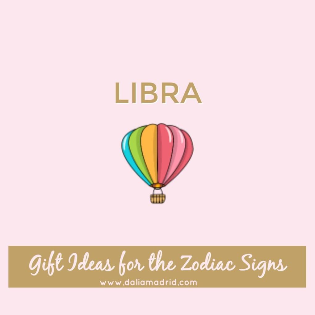 Gift idea for Libra: Hot Air Balloon Ride