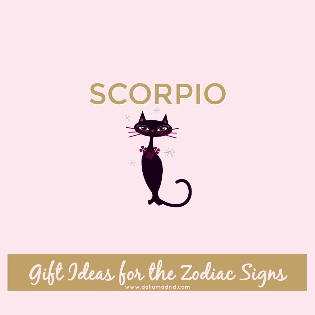 Gift idea for Scorpio: Black Cat