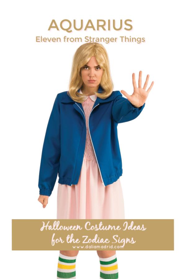 Aquarius Halloween Costume - Eleven from Stranger Things