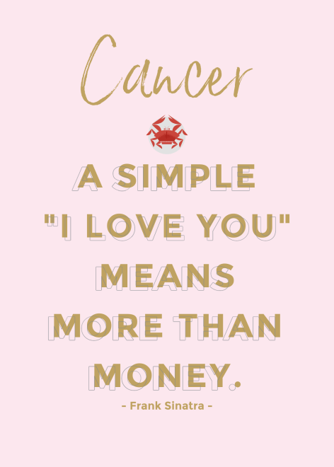 Cancer Love Quote