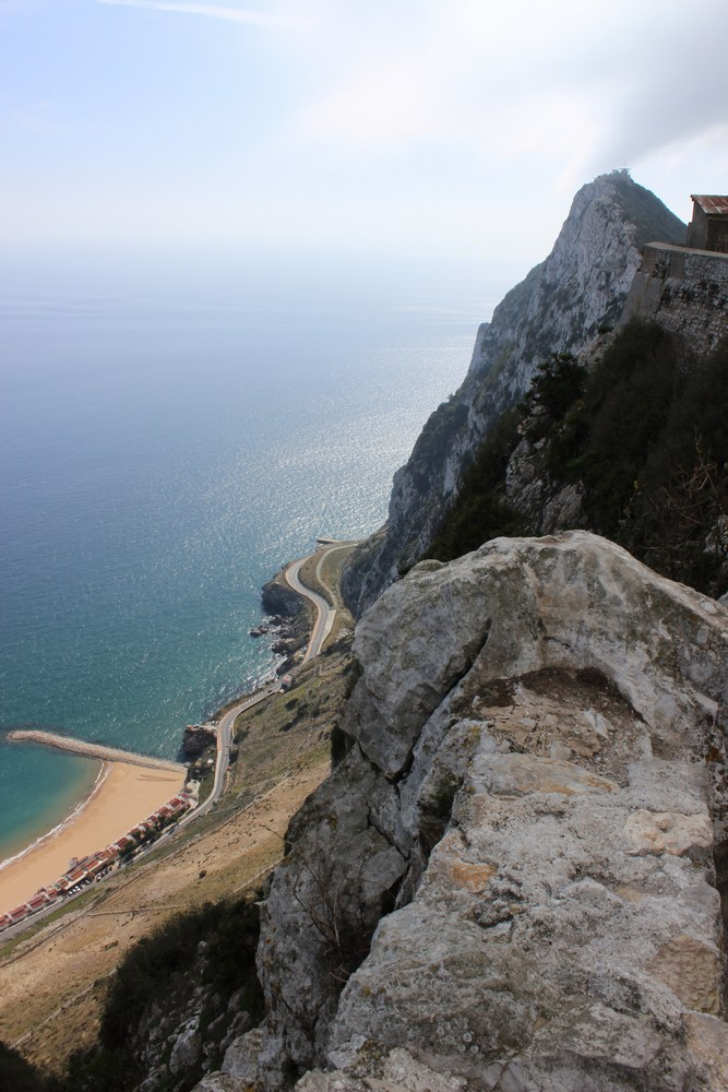 Up on the Rock of Gibraltar
