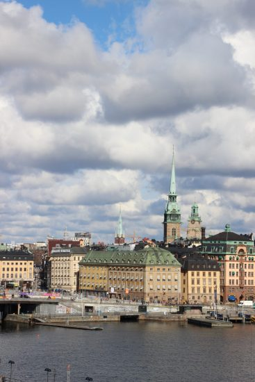 View of Gamla Stan, the historic centre of Stockholm