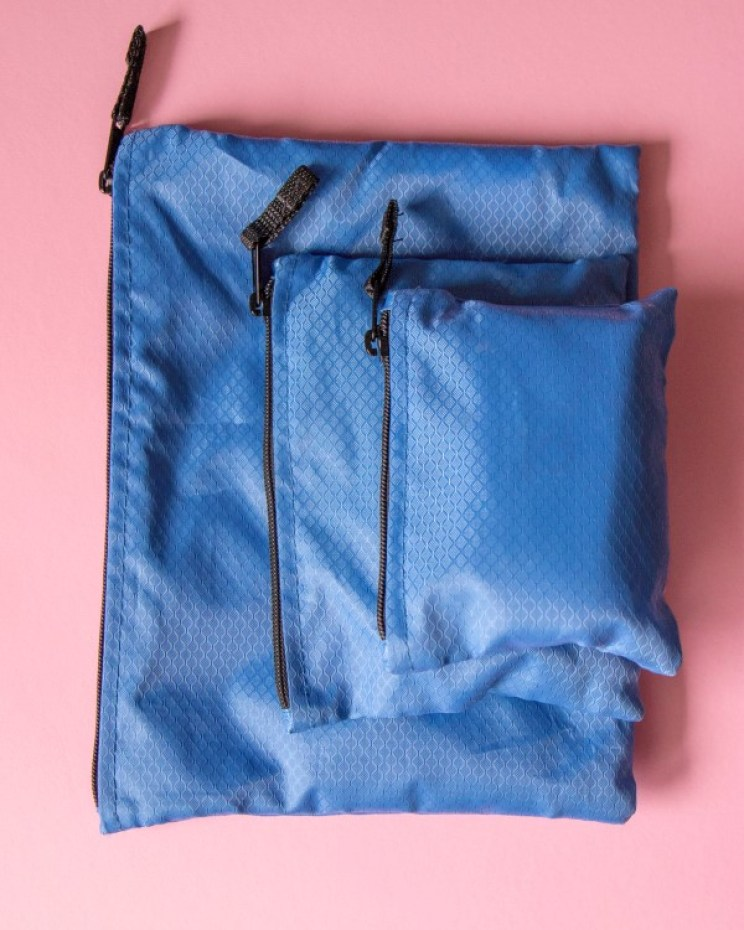 These little organization bags are fantastic! They're like mobile furniture wherever you go.