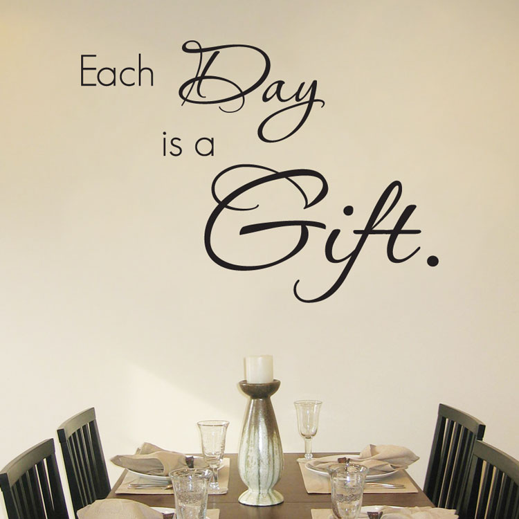 Each Day Is A Gift Quote Wall Decals Amp Words