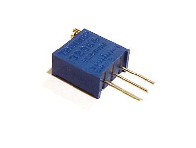 Подстроечный резистор 3296W, 100 кОм (100K) | Резисторы ...