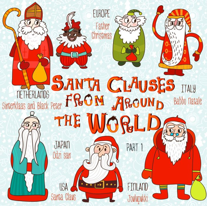 SantasAroundWorld