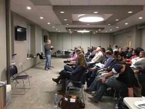 SPARK 2016 Brandon Bates teaching