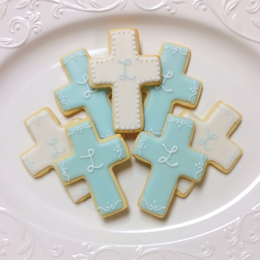 Baptism Cookies / © Dallas Bakes! 2014