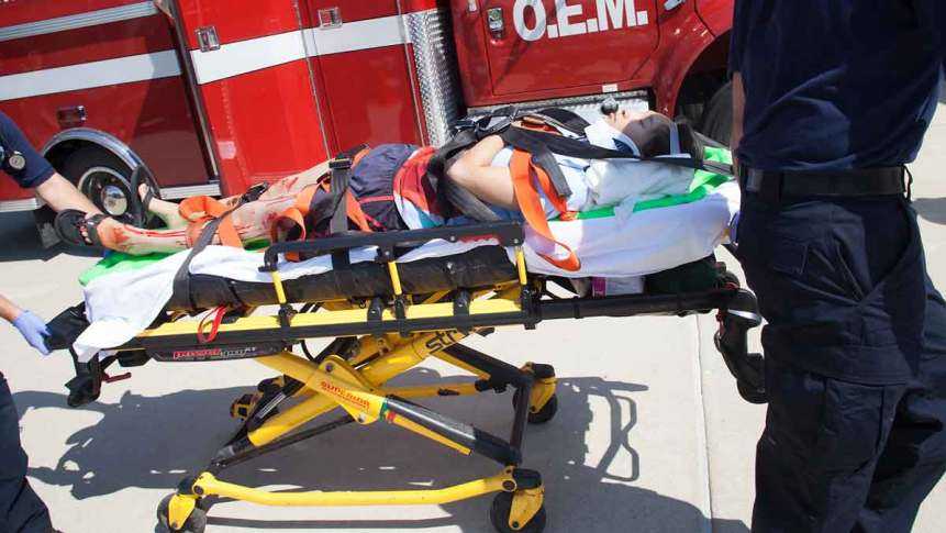Accident victim taken by ambulance suffers a Mental Anguish Injury Accident