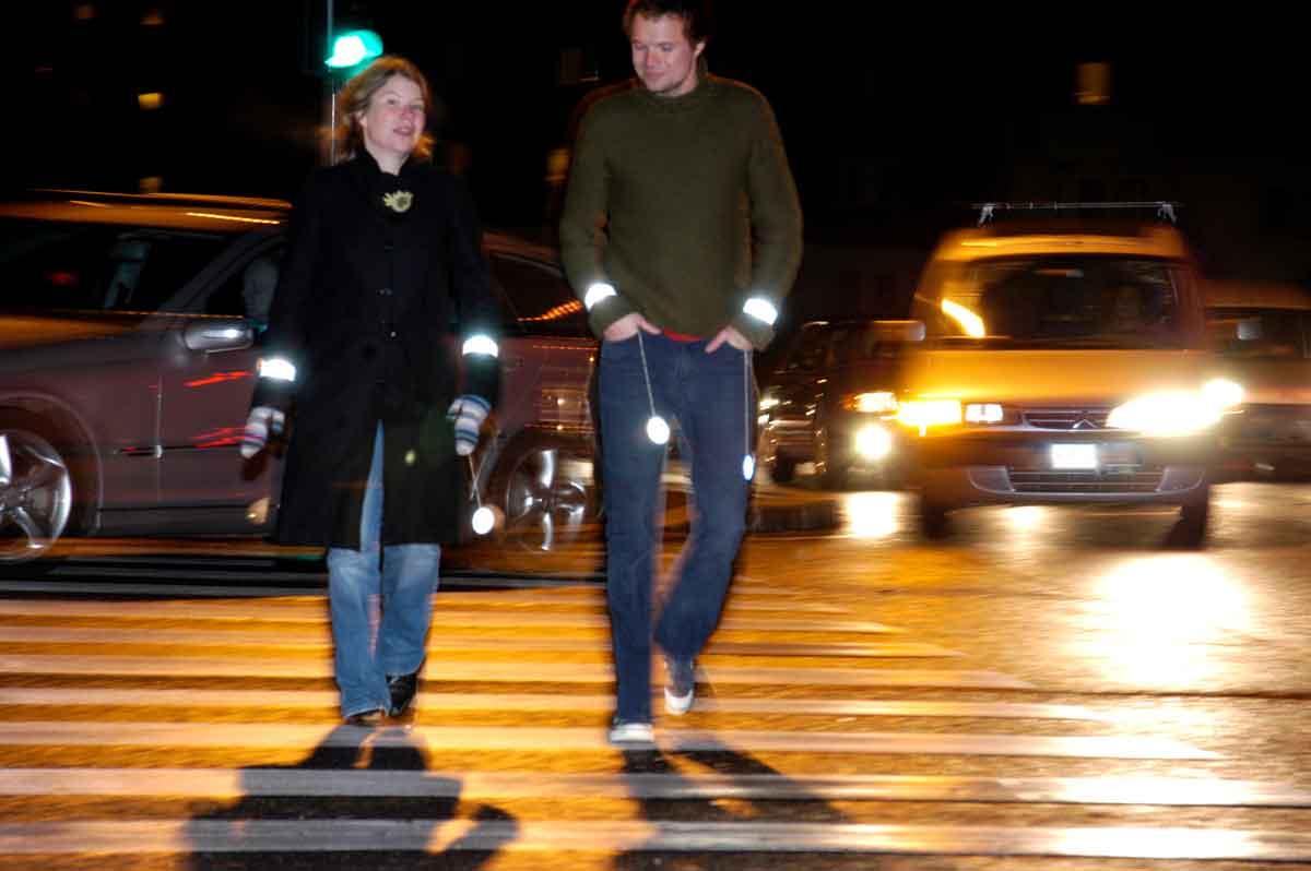 Pedestrians crossing at a crosswalk. Pedestrian accident lawyer