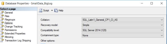 SQL Server Recovery Model