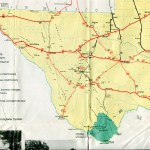 Old Highway Maps Of Texas