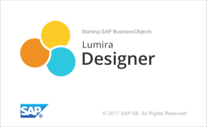 SAP Lumira 2_0 Designer Splash Screen