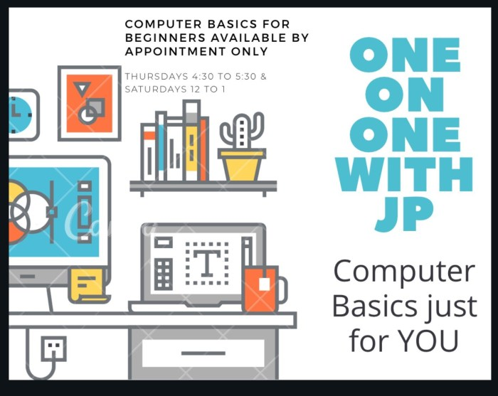 One-on-One Computer Basics @ MLK, Jr. Library