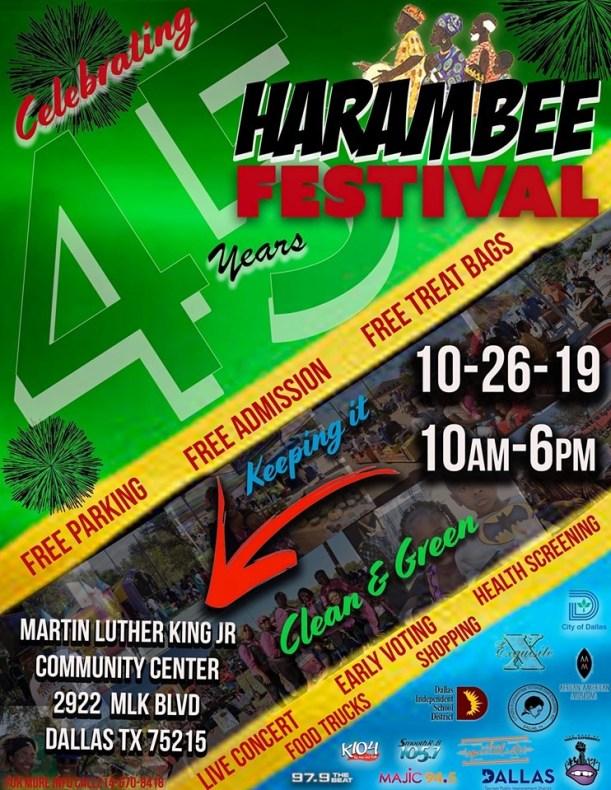 45th Annual Harambee Festival @ MLK, Jr. Community Center