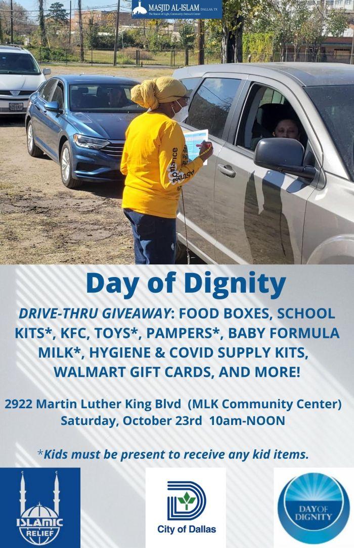 Day of Dignity @ MLK, Jr. Community Center