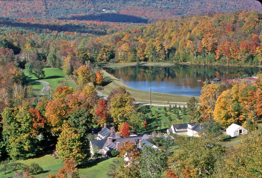 Barnard, Vermont, is home to Twin Farms, an all-inclusive resort in the Vermont mountains.(Twin Farms)