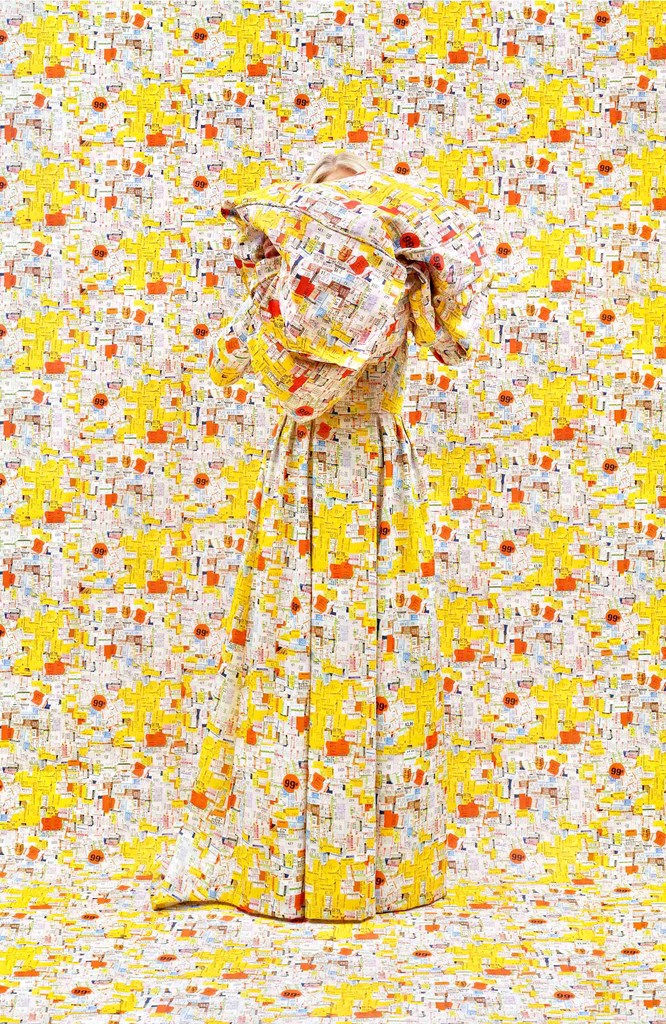 Rachel Perry's 'Lost in My Life (Price Tags with Bundle).' Richardson will appear at the 2018 Dallas Art Fair via the Yancey Richardson gallery(Yancey Richardson/Rachel Perry)