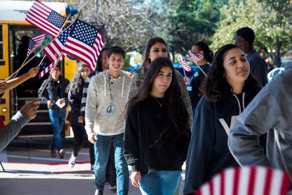 Duncanville High School Students