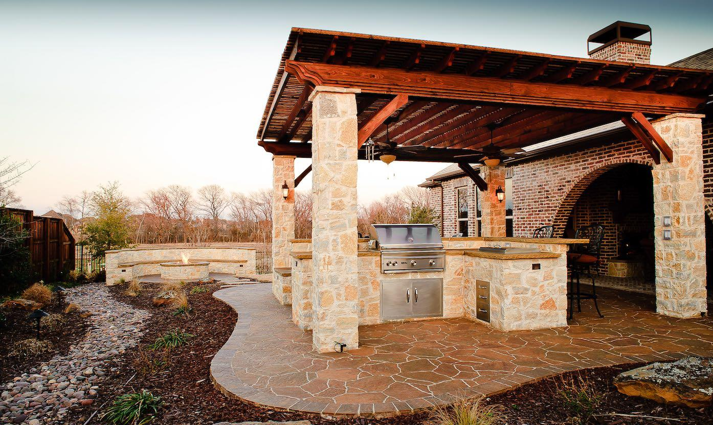 10 Tips for Creating Perfect Outdoor Kitchen in the ... on Patio Kitchen  id=55211