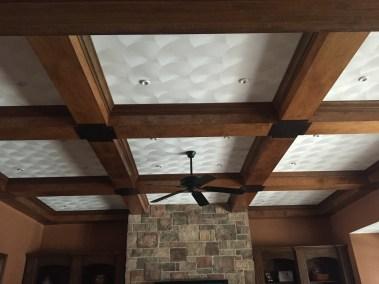 Swirl Plaster Ceiling