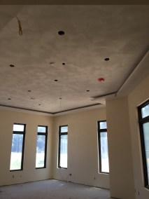 Sand Finish Plaster Ceiling