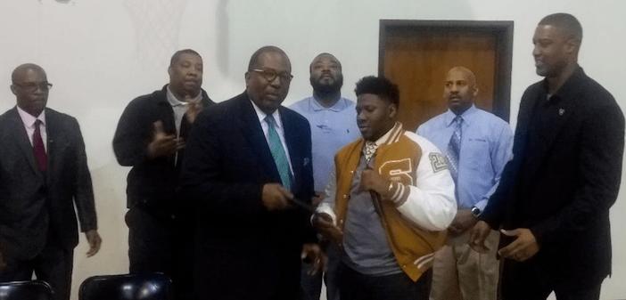 Senator West delivers powerful message to South Oak Cliff
