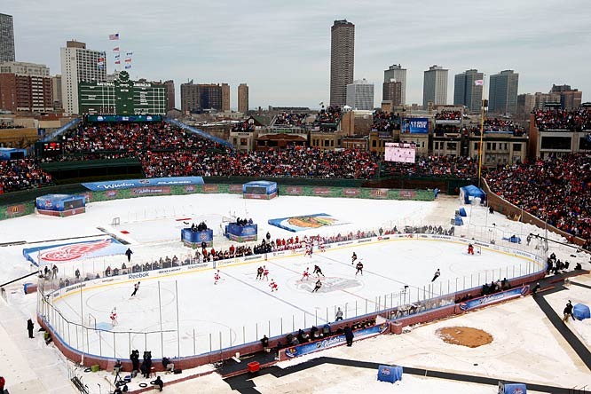This is an example of how an outdoor game saved a professional sports league from the brink of extinction.