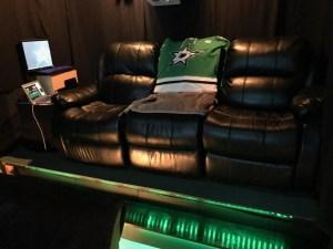 Dallas Stars Fan Site Home Cinema / Man Cave