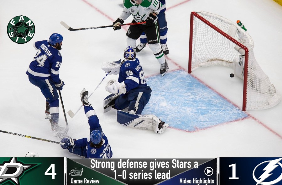 Dallas Stars vs Tampa Bay Lightning, Stanley Cup Final - Game 1