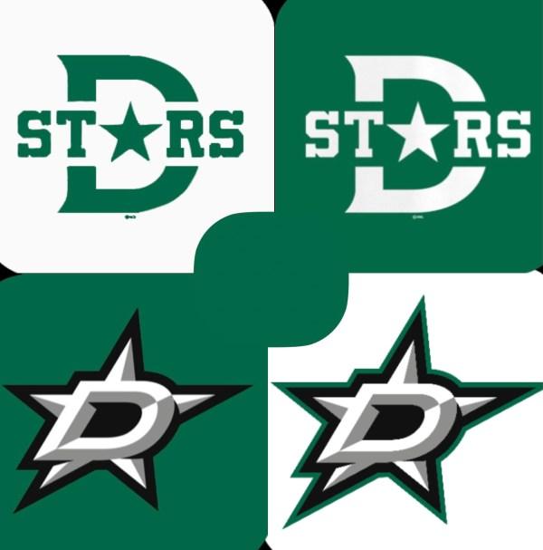 Dallas Stars Logo Icons