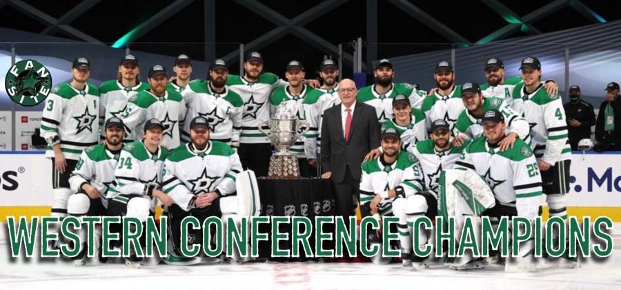 Dallas Stars - 2020 Western Conference Champions
