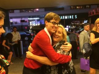 John Fredrickson and mother, Becky Fredrickson.