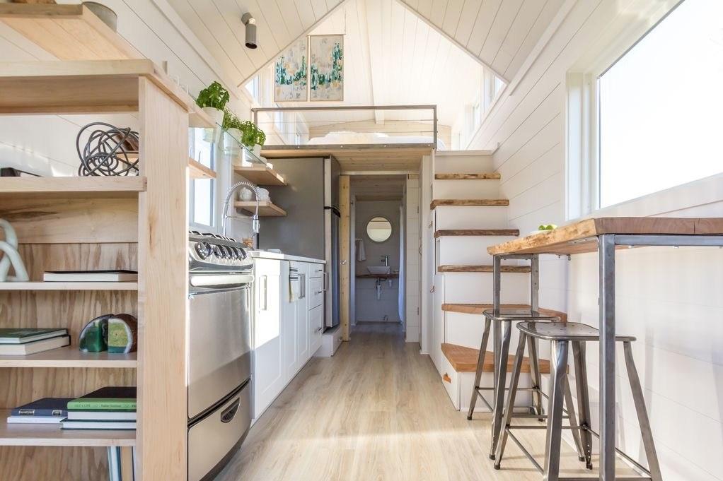 Bright Modern Tiny House