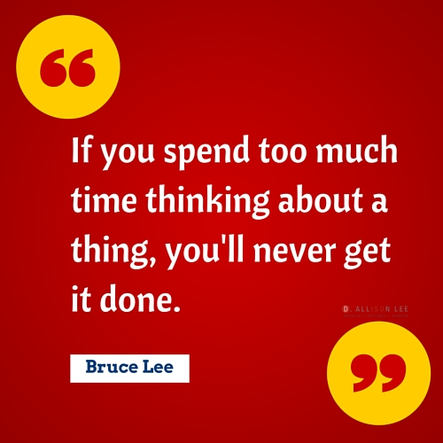 Bruce Lee's quotes are very inspiring for entrepreneurs.