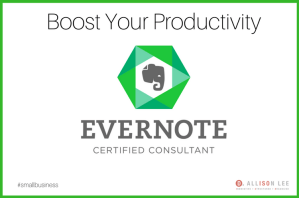 Evernote Certified Consultant | DAllisonLee.com