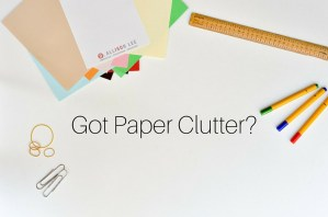 Tame Paper Clutter in Your Home or Office