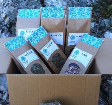 Paket domaćih čajeva