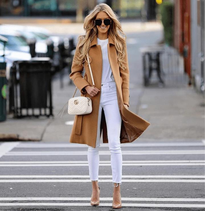 Macy Stucke in skinny jeans