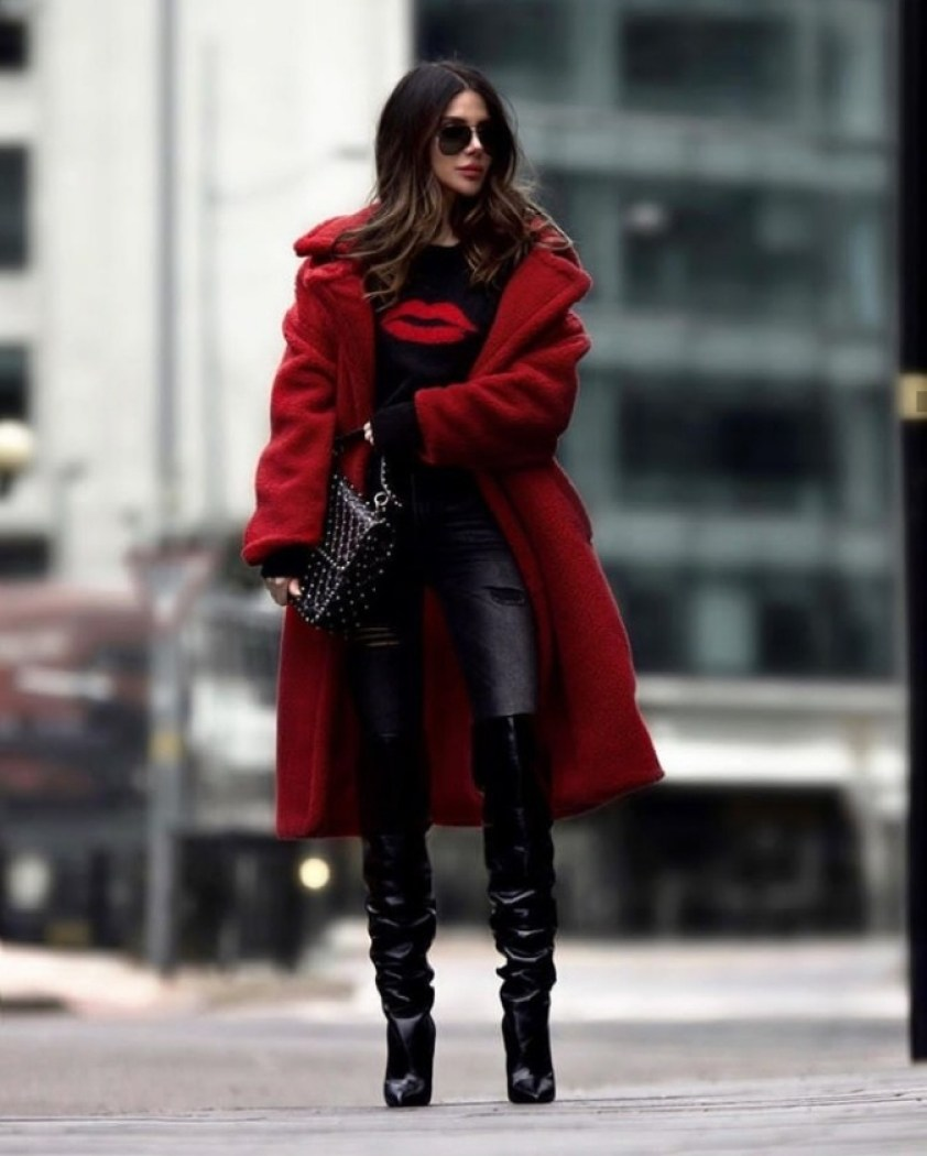 How To Look Good In Slouchy Over-The-Knee Boots
