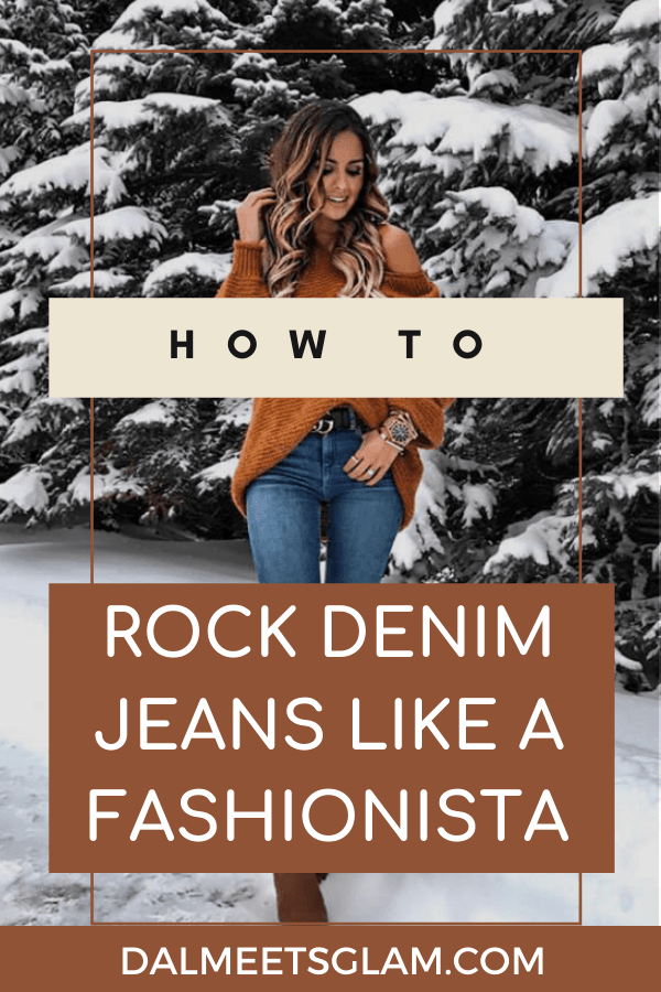 How To Rock Denim Jeans Like A Street Style Fashionista