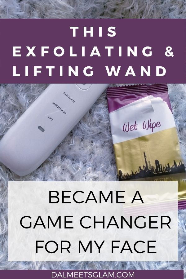 This Exfoliating & Lifting Wand Became a Game Changer With My Face