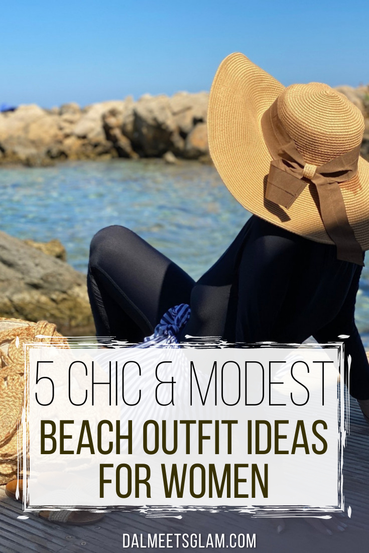 5 Modest Beach Outfit Ideas For Women - Look Classy & Modest!