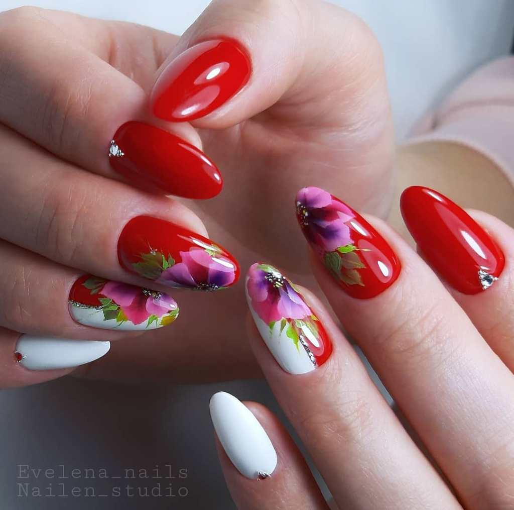Trendy Red Nail Designs To Make A Bold Statement