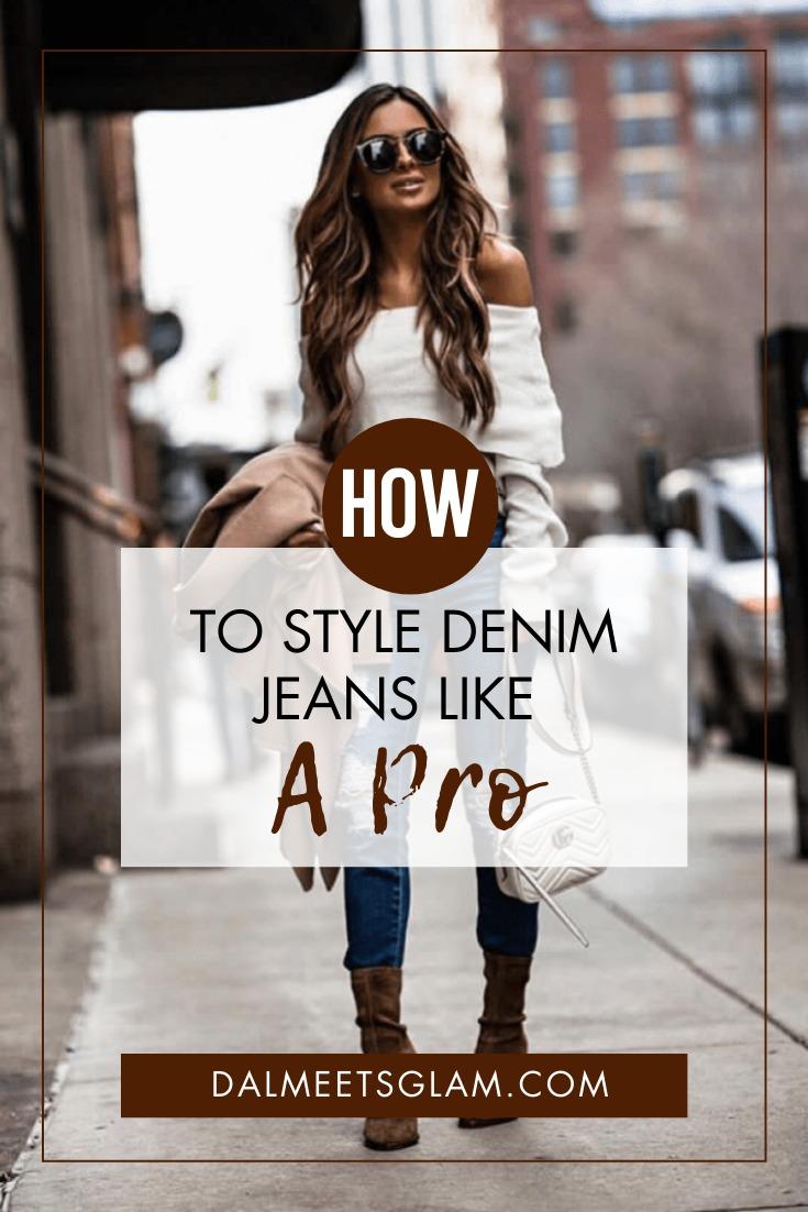 How To Rock Denim Jeans Like A Street Style Fashionista