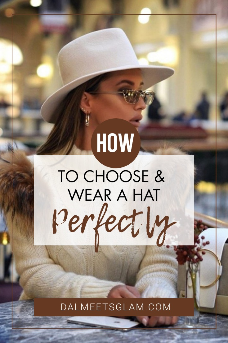 Have No Hat? Rita Tesla Will Show You How To Wear Hats Perfectly!