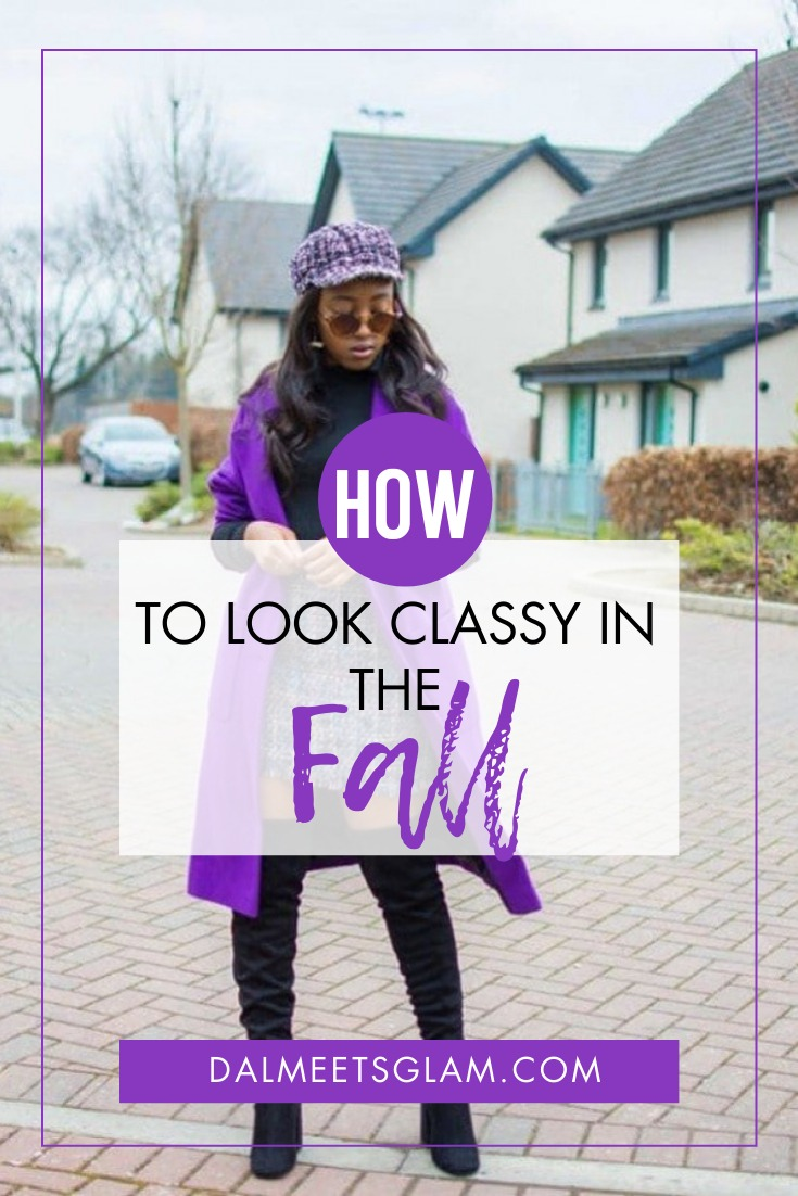 Fall Fashion: How to Look Classy in Fall