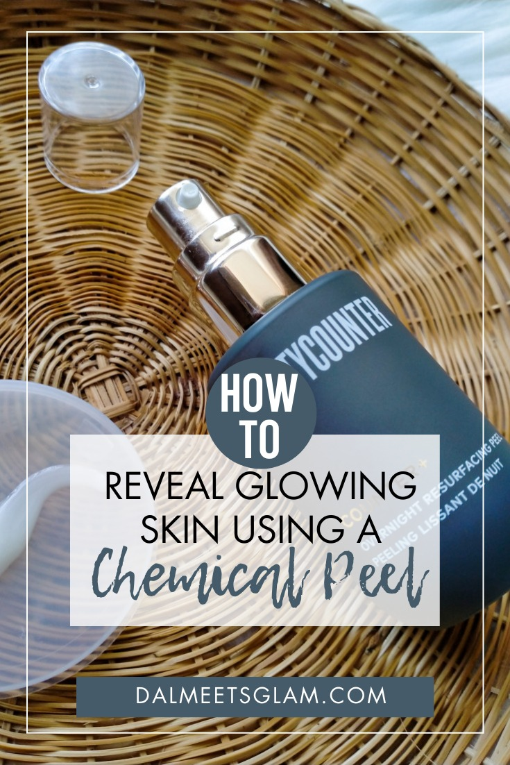 Tried A Chemical Peel At Home? Beautycounter's Overnight Resurfacing Peel Got My Skin Glowing!