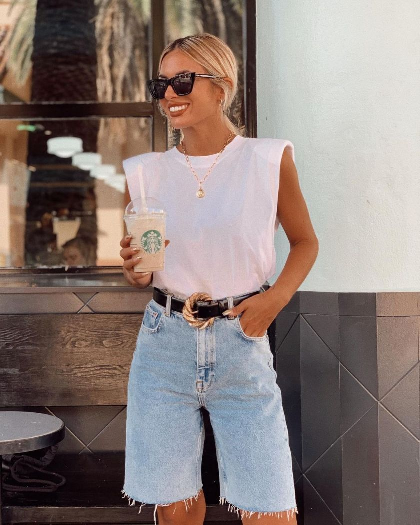 The Best Denim Shorts Outfits That'll Have You Slaying All Summer