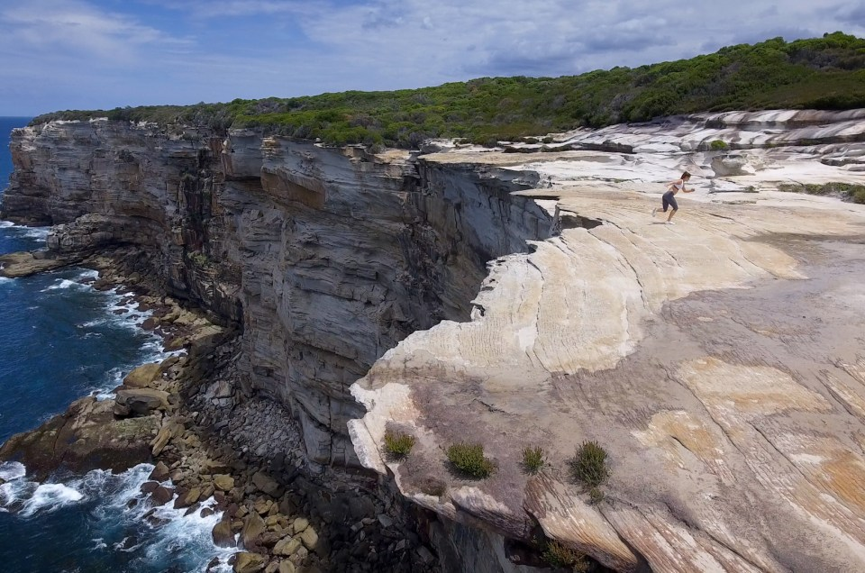 Royal National Park Cliffs, Australia